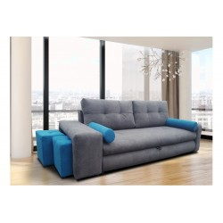 Sofa Quick z pufami